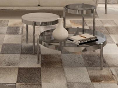שטיח טלאים עורות דגם A2