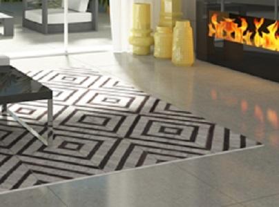 שטיח עור משולב אריגה עבודת יד דגם A4