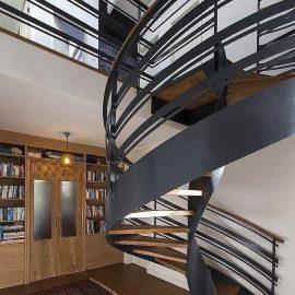 מדרגות לבית מעוצבות